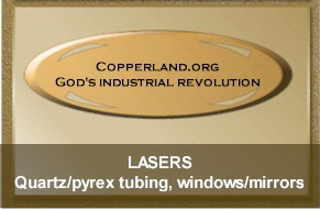 Copper Country quartz for high value laser products